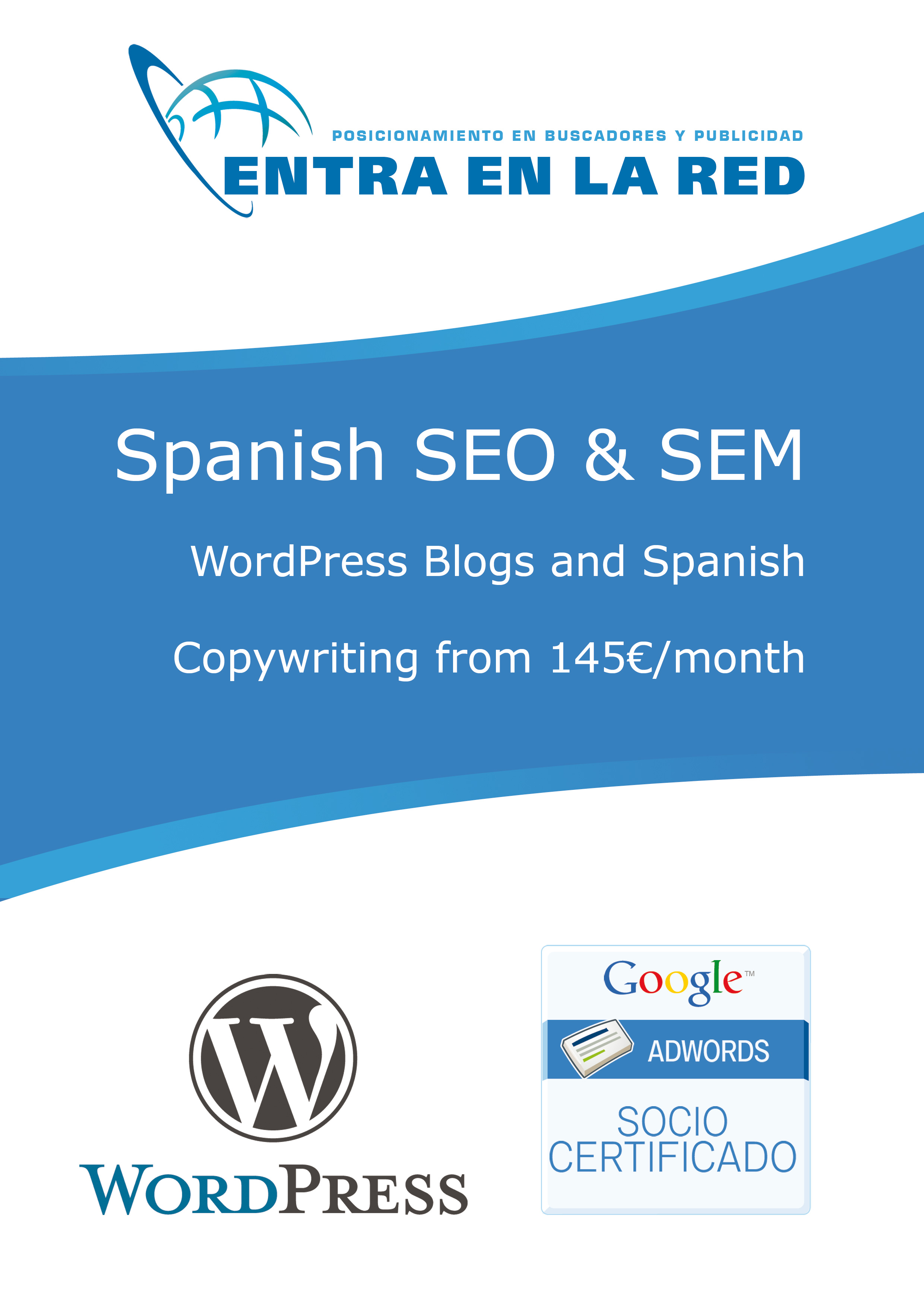 Spanish SEM and WordPress Blogs for SEO